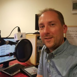 Maritime Radio presenter Pete Furgusson