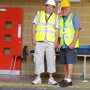David Phillips and Bob LeRoi