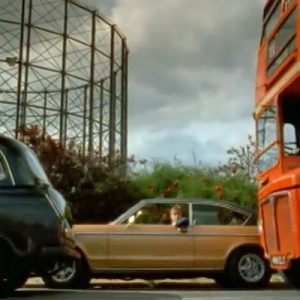 "The video to ""Parklife"" by Blur, featured the gas holder"