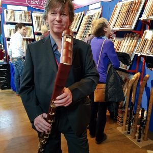 Peter Booth, one of the event organisers at the Early Music Festival.