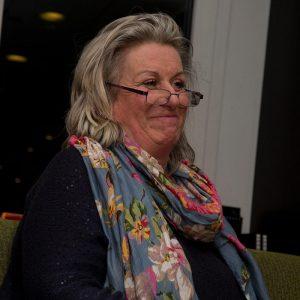 Barbara Ward Greenwich Creative Writing Group member and Maritime Radio Newsreader
