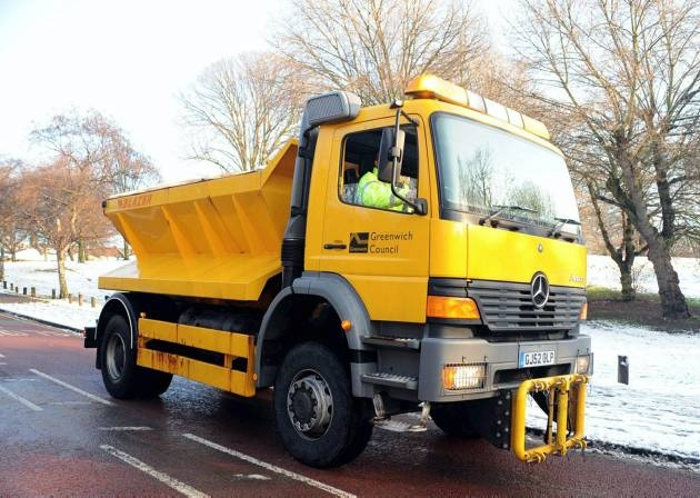 Greenwich Council Gritter