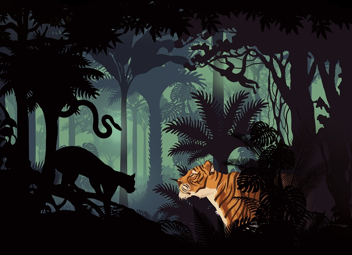 Poster for The Jungle Book at Greenwich Theatre