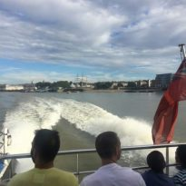 Thames Clipper Cruising