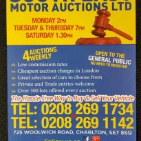 Going…going…gone at the car auction!