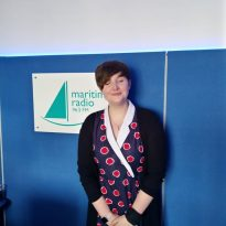 Lucy Griffith-Searles from Greenwich & Bexley Hospice came to the studio.
