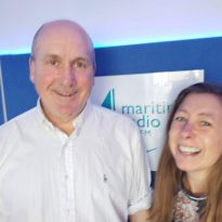 Interested in yoga classes?  Maria Gray visited Maritime Radio to tell Steve all about yoga classes.