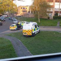 Reports of drunken gunman in Sidcup