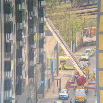 – 16 year old girl falls from balcony in Lewisham