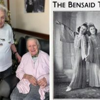 Entertainer twins reunited in Chislehurst care home