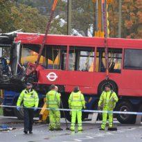 Man dead in Orpington Bus crash