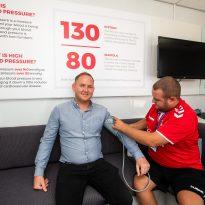 Campaign celebrates its 10,000th blood pressure check