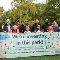 Maryon Park Playground opens