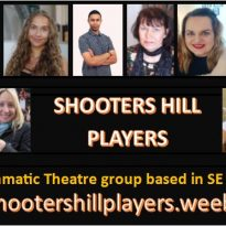 Interview with Harry Denford from Shooters Hill Players with Derek.