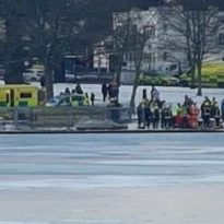 Man Dies After Falling Into Frozen Lake