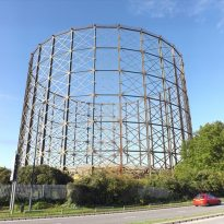 Campaign to Save Blur's Greenwich Gasholder