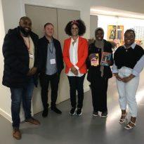 Award winning writer inspires students during visit to old Eltham school