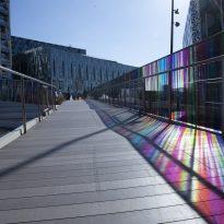 700m kaleidoscopic walkway brightens up the Peninsula
