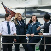 All Female Crew Mark International Women's Day 2018