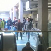 Matt Damon Spotted in Woolwich