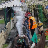 Single to Bexley for Falconwood's model railway