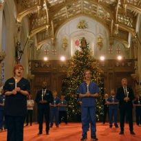 NHS Choir sings for the Queen