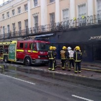 Fire in Nelson Road