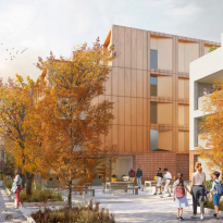 40 zero-carbon council homes in Eltham receive planning approval