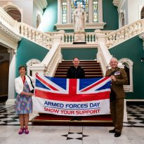 Royal Greenwich supports Armed Forces Day