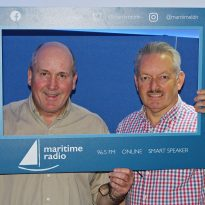Peter Frost visited Maritime Radio