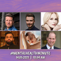 Coming together for the #MentalHealthMinute