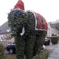 Sidcup's local giant goes festive