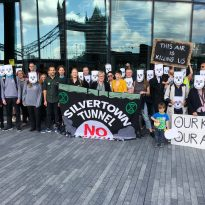 "Residents Say ""Scrap Silvertown Tunnel Plans"""
