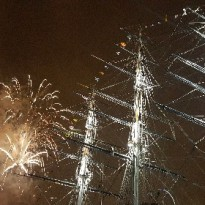 Fireworks for the Tall Ships