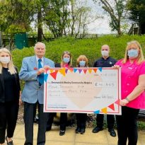 103 year old raises over £4,600  for Community Hospice