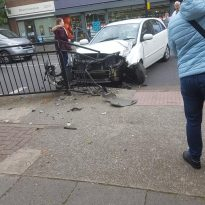 Accident Causes Delays in Eltham