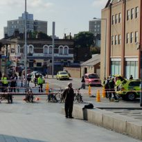 Serious Accident closes Woolwich town Centre