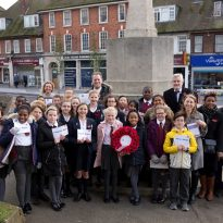 Wreath Laying in Eltham Celebrates Memorial Listing