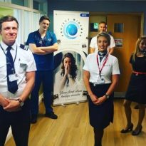 Airline volunteers give NHS staff First Class experience